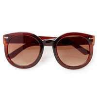 24-Seventies Brown Sunglasses