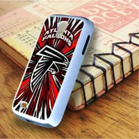 Atlanta Falcon Red Graphic Samsung Galaxy S4 Case