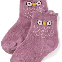 Critter Crew Socks for Toddler & Baby |old-navy