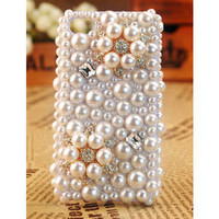 Apple iPhone4 3GS Pearl Cover Unique Christmas Gift - GULLEITRUSTMART.COM