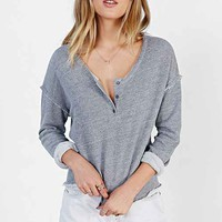 Truly Madly Deeply Cropped Henley