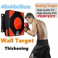 40*40*10Thicken boxing pad Punch mitts pads hang wall target MMA focus muay thai fighting Grappling foot targets sport equipment