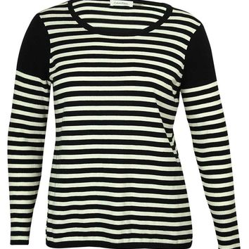 Calvin Klein Women's Striped Sweater