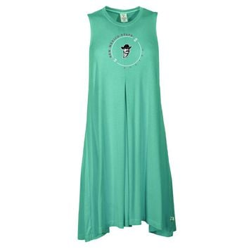 Official NCAA New Mexico State Aggies - RYLNMS11 Women's Sleeveless Spandex Pleat Dress
