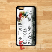 Lyric Panic at The Disco - zzZzz for iPhone 4/4S/5/5S/5C/6/6+,Samsung S3/S4/S5/S6 Regular,Samsung Note 3/4