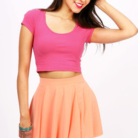 Color Palette Crop Top | Basic Tops at Pink Ice