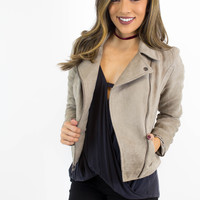 Stone Suede Jacket - Jack by BB Dakota