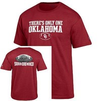 Licensed Oklahoma Sooners T Official  NCAA Shirt Tee by Champion 282260 KO_19_1