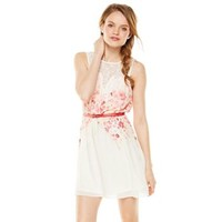Candie's® Lace Floral Skater Dress - Juniors