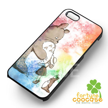 Fluffy Totoro - zia for  iPhone 4/4S/5/5S/5C/6/6+,Samsung S3/S4/S5/S6 Regular/S6 Edge,Samsung Note 3/4