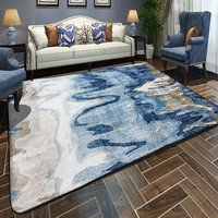 Abstract Painting Printed Floor Carpet