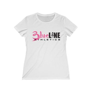 WOMENS T-SHIRT - Blueline Muscle Breast Cancer