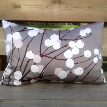Marimekko Pillow cover, 14x20 pillow cover, throw pillow cover, decorative pillow, modern pillow cover, Marimekko pillow, Lumimarja