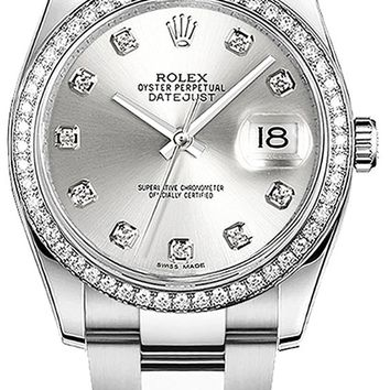 Rolex Datejust 36 116244 Diamond 36mm Luxury Watch