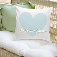 16x16 Throw Pillow Family - Our Names