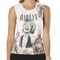 Marilyn Floral Twist Tank | Shop Tops at Wet Seal