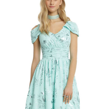 Disney The Little Mermaid Ariel Green Foil Princess Dress