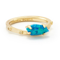 Kendra Scott: Julia Ring In Marine Kyocera Opal