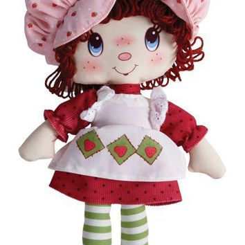 Retro Strawberry Shortcake Classic Rag Doll - Strawberry Scented
