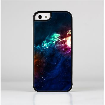 The Glowing Colorful Space Scene Skin-Sert Case for the Apple iPhone 5/5s