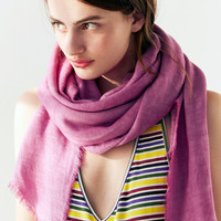 Soft Acid Wash Blanket Scarf | Urban Outfitters