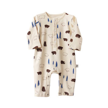 Winter Bears Baby Jumpsuit