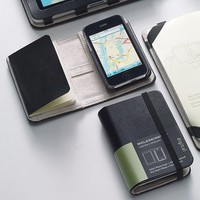 Moleskine Smart Phone Cover and Volant Notebook (iPhone 3G and 3GS), MoleskineUS
