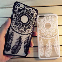 Lace Dream Catcher iPhone 7 7Plus & iPhone 6s 6 Plus Case Cover + Free Gift Box