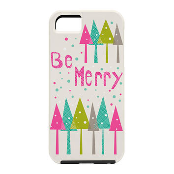 Heather Dutton Be Merry Cell Phone Case