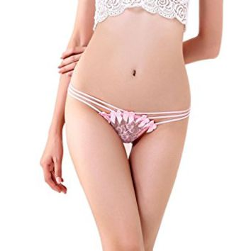 Underwear, Toraway Women Sexy Lace Condole Belt Thongs T-back Panties