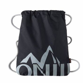 DCCK7N3 Simple Waterproof Drawstring Backpack Solid Tote Ultralight Bag Yoga Fitness Gym Bag Sports Mountaineering Bags For Women Men