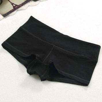 Women Shorts Solid Color