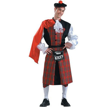 Men's Costume: What's Under the Kilt
