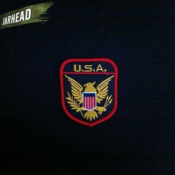 USA Eagle Personalized Embroidery Armband Military Fans Personalized Badge Military Fans Patches For Clothe Jacket Backpack Hat