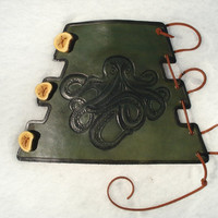 $50.00 Archery Arm Guard by MadeOfLeather on Etsy