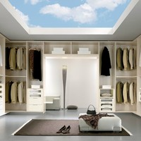 Walk-in wardrobe SPAZIANTE 7 Spaziante Collection by FAER Ambienti by Gruppo Lube | design Vittorio Lanciani