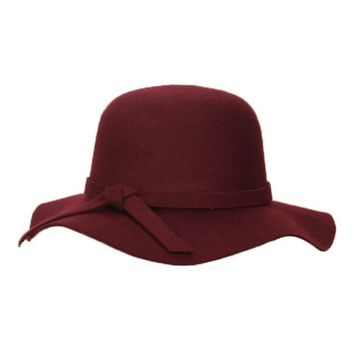 Red Wine Fedora hat - Hat and Hair - Accessories