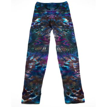Psychedelic Ashes Ice Dyed Leggings - Size Medium