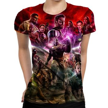 Infinity War Thanos Womens T-Shirt