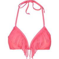 KANDY WRAPPERS Fringe Bikini Top 207359708 | Valentine's Gifts | Tillys.com