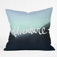 Leah Flores Adventure 2 Throw Pillow