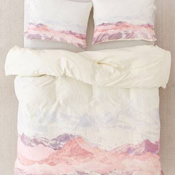 Iveta Abolina For DENY Pastel Mountains III Duvet Cover   Urban Outfitters