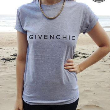 GIVENCHIC Style Printed T-shirt