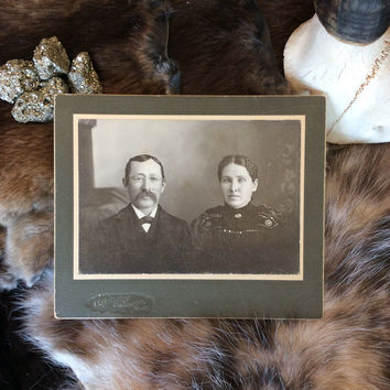 "Antique Photo ""Couple Portrait 1"""
