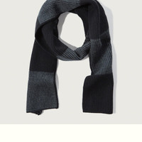 Colorblock Wool-cashmere Scarf