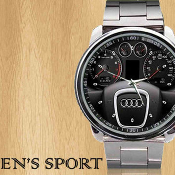 New Audi speedometer concept logo sport metal watch