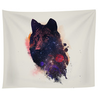 Universal Wolf Tapestry