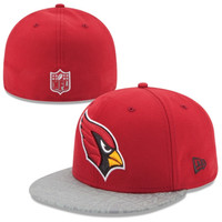 Arizona Cardinals New Era 2014 NFL Draft 59FIFTY Reflective Fitted Hat - Cardinal