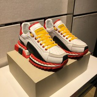 Ready Stock D & G Dolce & Gabbana Women's Leather Fashion Sneakers Shoes #294