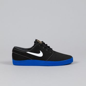 Nike SB Lunar Stefan Janoski Black / White - Game Royal